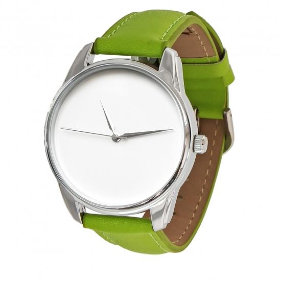 Фото - Часы наручные Минимализм салатовый купить в киеве на подарок, цена, отзывы