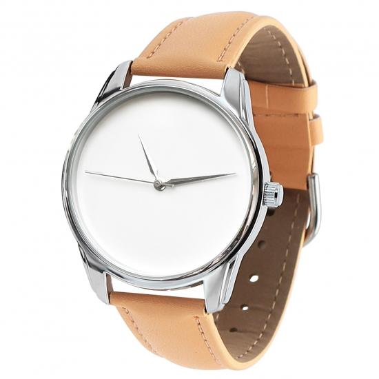 Фото - Часы наручные Минимализм кремовый купить в киеве на подарок, цена, отзывы