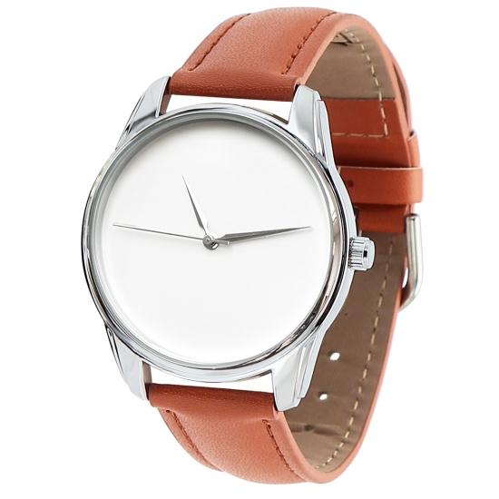 Фото - Часы наручные Минимализм рыжий купить в киеве на подарок, цена, отзывы
