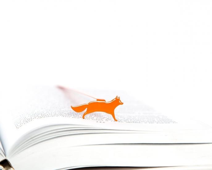 Фото - Закладка для книг Лиса купить в киеве на подарок, цена, отзывы