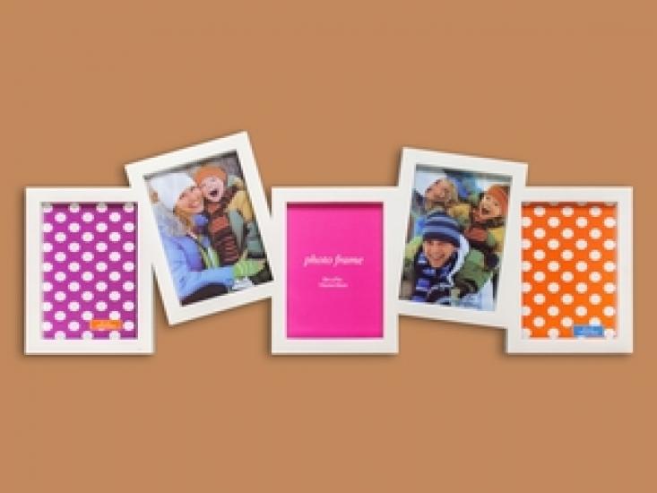 Фото - Фоторамка Семейная на 5 фото Белая купить в киеве на подарок, цена, отзывы