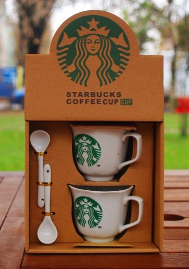 Фото - Подарочный набор чашек Starbucks 2011 купить в киеве на подарок, цена, отзывы