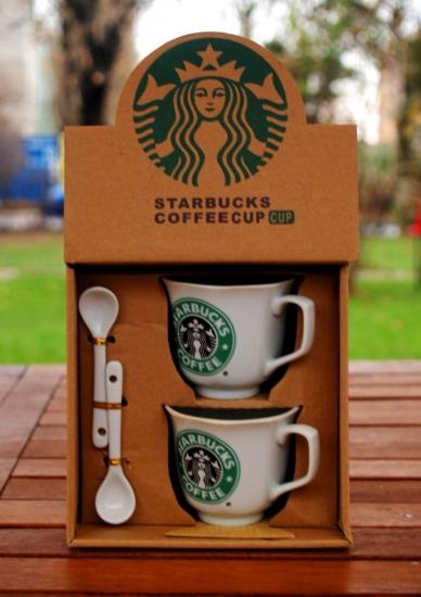 Фото - Подарочный набор чашек Starbucks 1992 купить в киеве на подарок, цена, отзывы