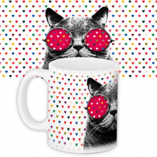 Фото - Чашка Love Cat купить в киеве на подарок, цена, отзывы