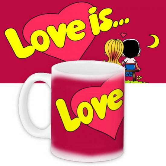Фото - Чашка red Love is...  купить в киеве на подарок, цена, отзывы