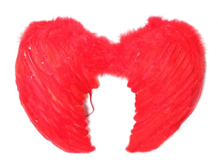 Фото - Крылья Ангела Большие 45х60 см (красные) купить в киеве на подарок, цена, отзывы