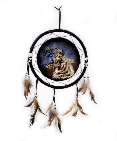 Фото - Ловец снов Волк воющий 30 см купить в киеве на подарок, цена, отзывы