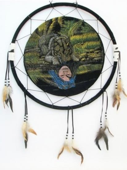 Фото - Ловец снов Оборотень 50 см купить в киеве на подарок, цена, отзывы