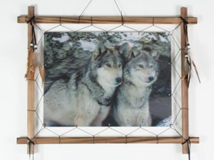 Фото - Ловец снов Семья голограмма 55 см купить в киеве на подарок, цена, отзывы