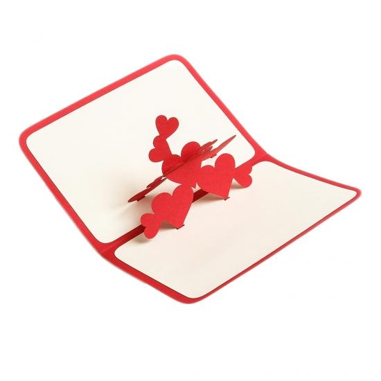 Фото - Объемная открытка Фонтан любви купить в киеве на подарок, цена, отзывы
