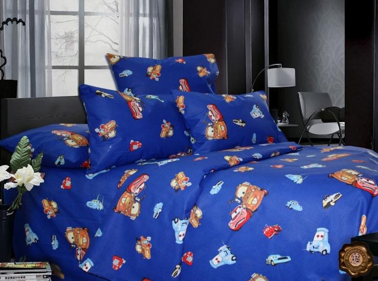 Фото - Комплект постельного белья для детей Тачки купить в киеве на подарок, цена, отзывы