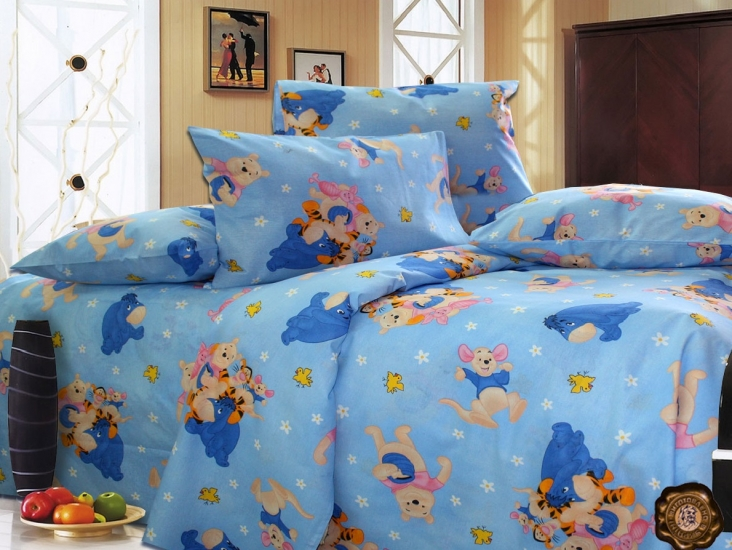 Фото - Комплект постельного белья для детей Винни купить в киеве на подарок, цена, отзывы