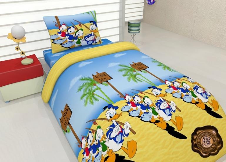 Фото - Комплект постельного белья для детей Скрудж Макдак купить в киеве на подарок, цена, отзывы