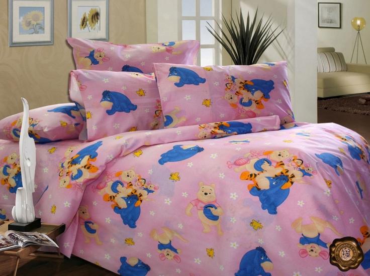 Фото - Комплект постельного белья для детей Винни и друзья купить в киеве на подарок, цена, отзывы