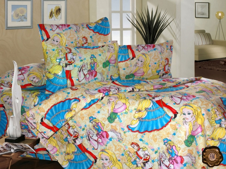 Фото - Комплект постельного белья для детей Тристан и Изольда купить в киеве на подарок, цена, отзывы