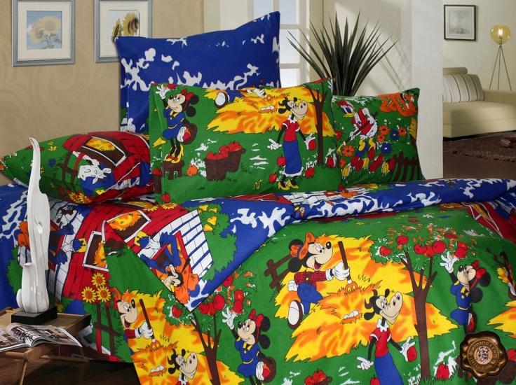 Фото - Комплект постельного белья для детей Микки купить в киеве на подарок, цена, отзывы