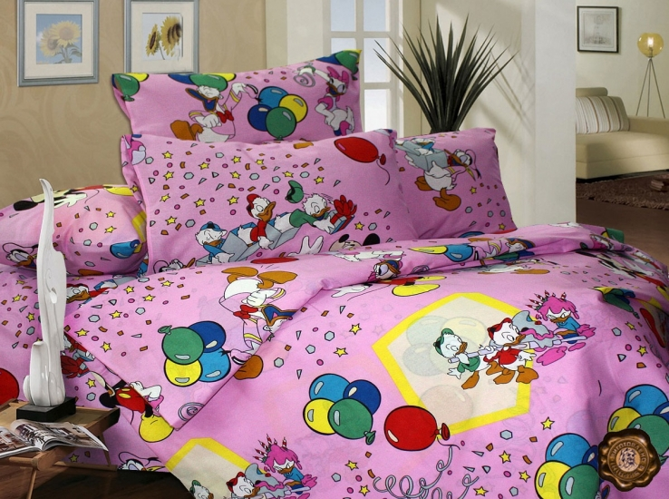 Фото - Комплект постельного белья для детей Утиные Истории купить в киеве на подарок, цена, отзывы