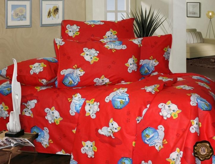 Фото - Комплект постельного белья для детей Кот рыбак купить в киеве на подарок, цена, отзывы