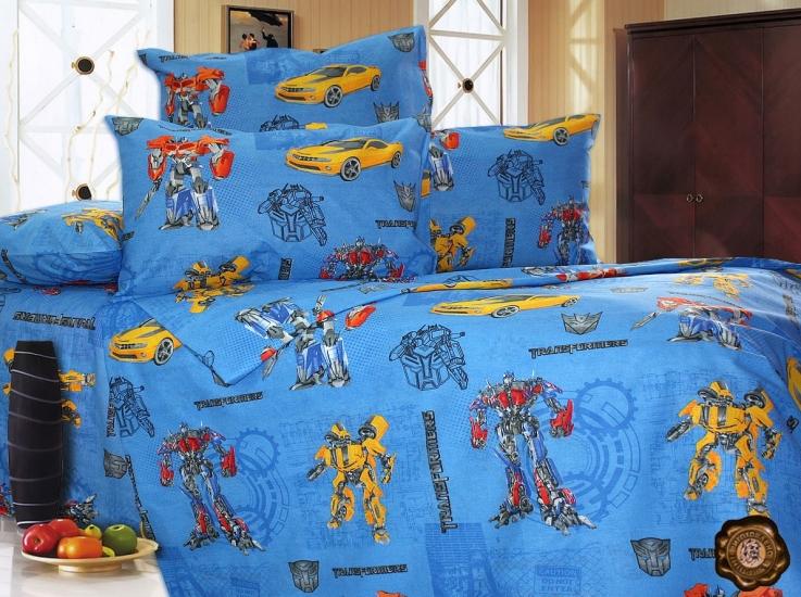 Фото - Комплект постельного белья для детей Трансформеры купить в киеве на подарок, цена, отзывы