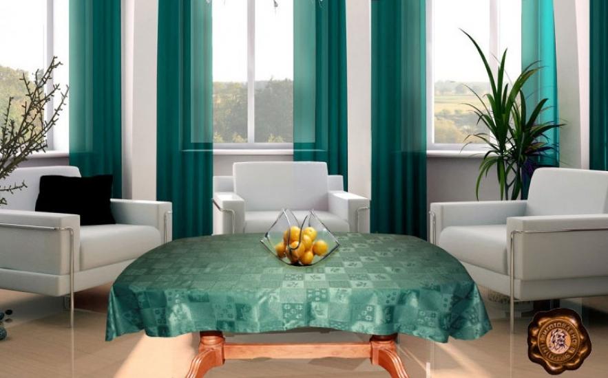 Фото - Скатерть на прямоугольный стол Тэйл 120х142 см купить в киеве на подарок, цена, отзывы