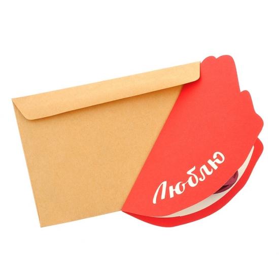 Фото - Объемная открытка Люблю купить в киеве на подарок, цена, отзывы