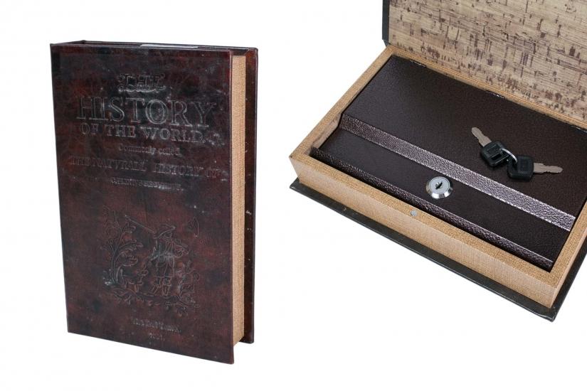 Фото - Книга сейф История Мира 26 см купить в киеве на подарок, цена, отзывы