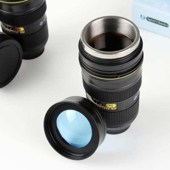 Фото - Термос кружка в форме обьектива Nican 70-200 с линзой купить в киеве на подарок, цена, отзывы