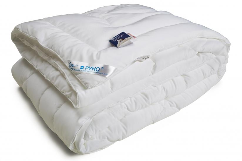 Фото - Одеяло из искусственного лебяжьего пуха чехол тик теплое 172х205 см купить в киеве на подарок, цена, отзывы