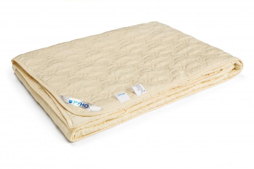 Фото - Одеяло шерстяное стеганное облегченное Нежность 200х220 см купить в киеве на подарок, цена, отзывы