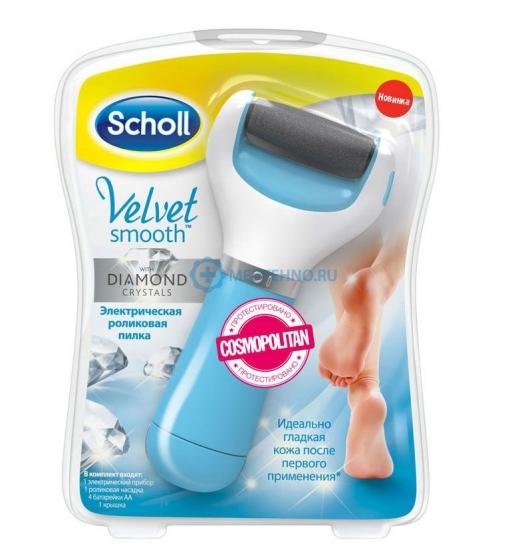 Фото - Электрическая роликовая пилка Scholl  купить в киеве на подарок, цена, отзывы