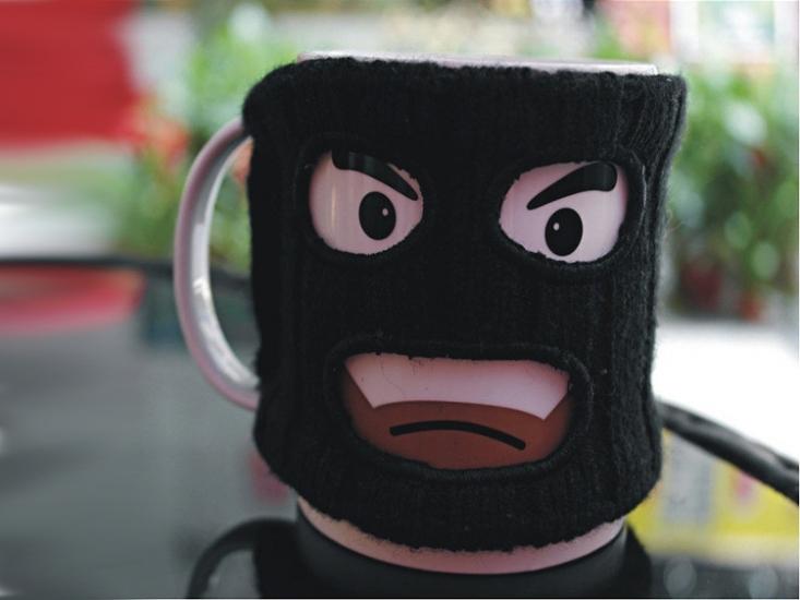 Фото - Чашка Бандит Mugga Mug купить в киеве на подарок, цена, отзывы
