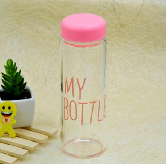 Фото - Бутылка My bottle розовая купить в киеве на подарок, цена, отзывы