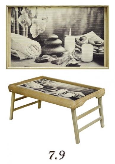 Фото - Столик для завтрака на ножках Relax купить в киеве на подарок, цена, отзывы