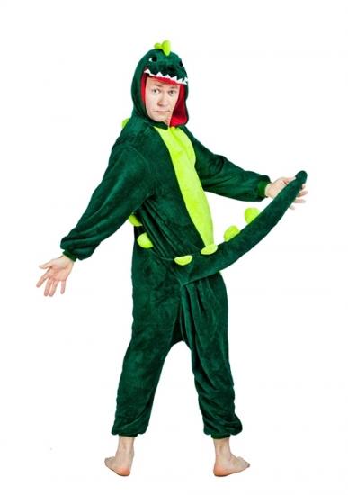 Фото - Кигуруми Динозавр зеленый купить в киеве на подарок f4bfe7af201a2