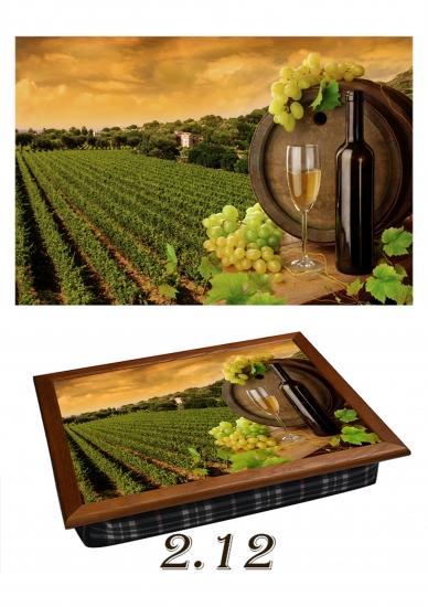 Фото - Поднос с подушкой Вино  купить в киеве на подарок, цена, отзывы