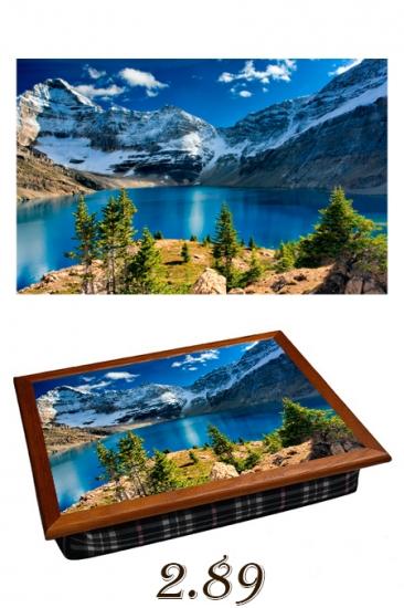 Фото - Поднос с подушкой  Альпы купить в киеве на подарок, цена, отзывы