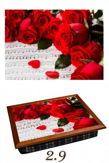 Фото - Поднос с подушкой музыкальная купить в киеве на подарок, цена, отзывы