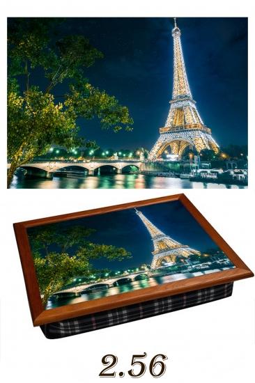 Фото - Поднос с подушкой солнечный париж купить в киеве на подарок, цена, отзывы