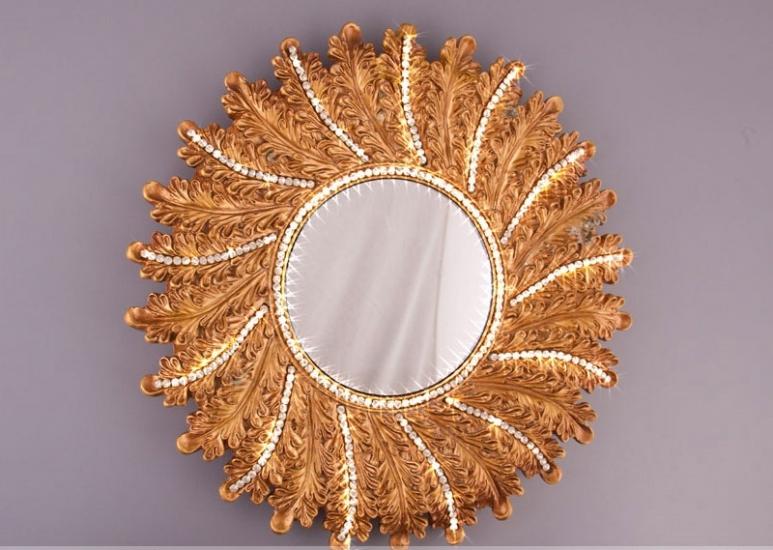 Фото - Зеркало Солнце 39см купить в киеве на подарок, цена, отзывы