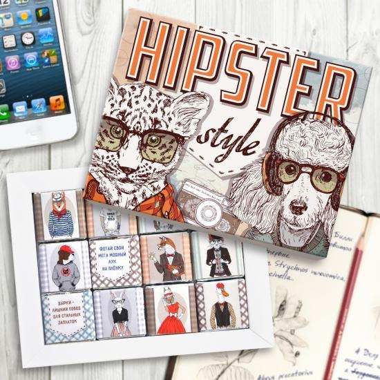Фото - Шоколадный набор Хипстер (60 г.) купить в киеве на подарок, цена, отзывы