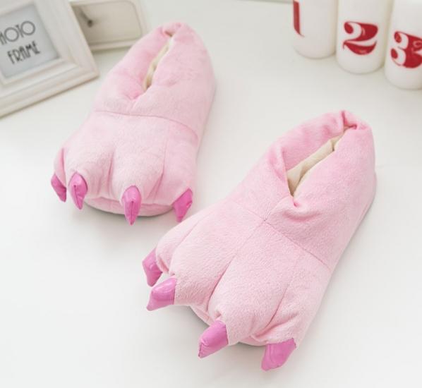 Фото - Домашние тапочки кигуруми Лапы Розовый купить в киеве на подарок,  цена, отзывы 777683532f2