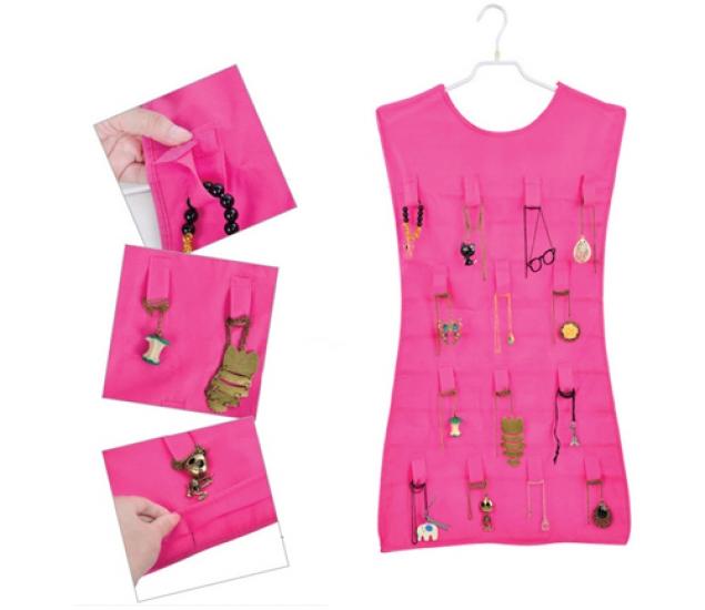 Фото - Маленькое розовое платье - органайзер для украшений купить в киеве на подарок, цена, отзывы