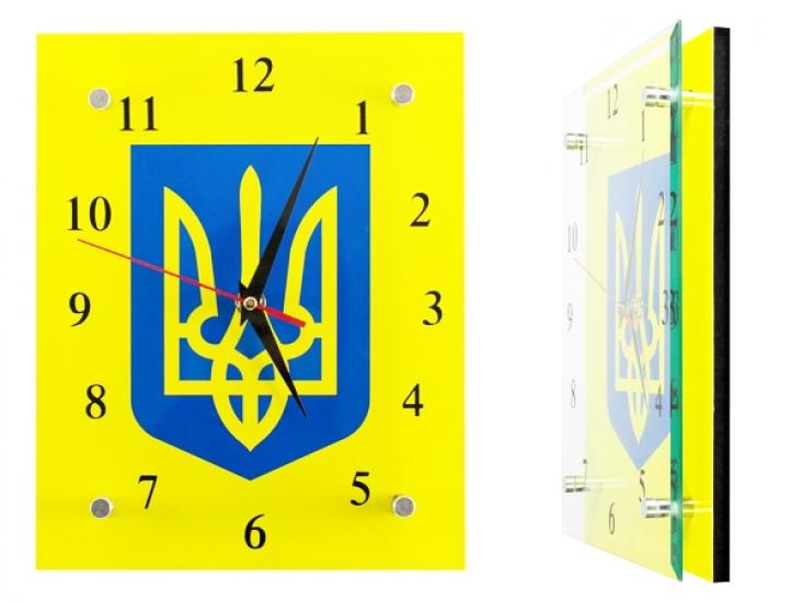 Фото - Настенные Часы Герб Украины купить в киеве на подарок, цена, отзывы
