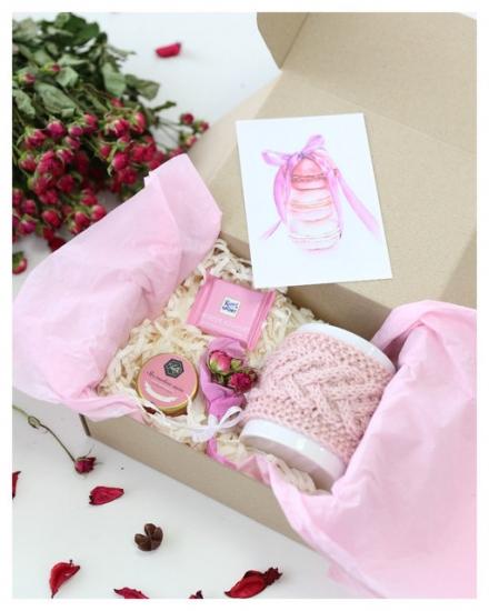 Фото - Подарочный набор Pink купить в киеве на подарок, цена, отзывы