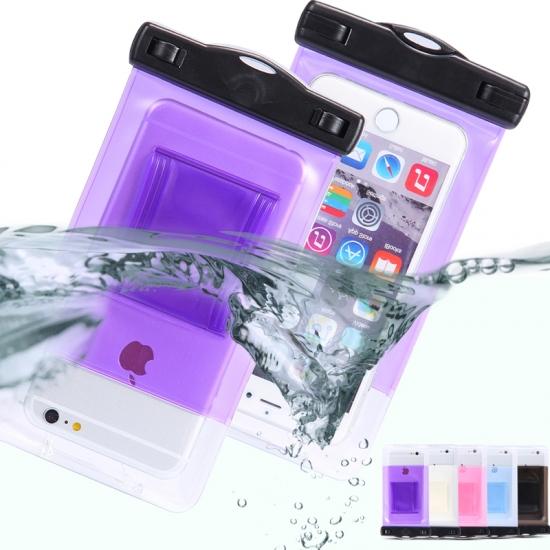 Фото - Водонепроницаемый чехол для телефона Фиолетовый купить в киеве на подарок, цена, отзывы