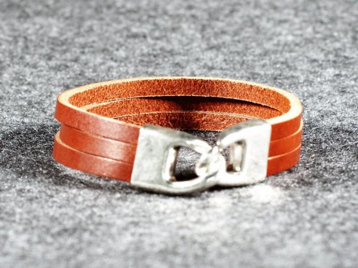 Фото - Кожаный Браслет Look купить в киеве на подарок, цена, отзывы