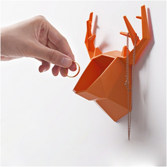 Фото - Настенный держатель для аксессуаров Deer Orange купить в киеве на подарок, цена, отзывы