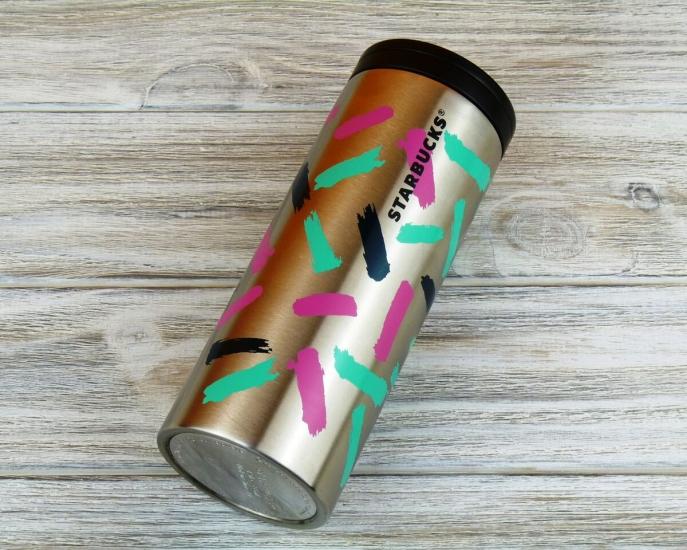 Фото - Термокружка Starbucks Colorful Stile 355 мл купить в киеве на подарок, цена, отзывы