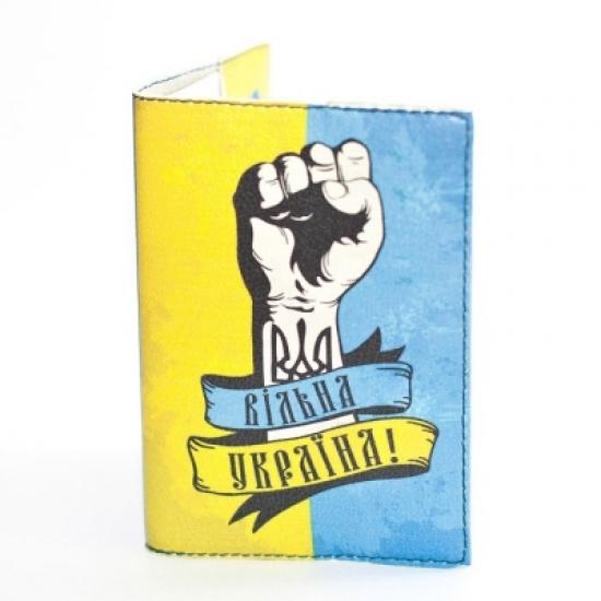 Фото - Обложка на паспорт Вільна Україна  купить в киеве на подарок, цена, отзывы
