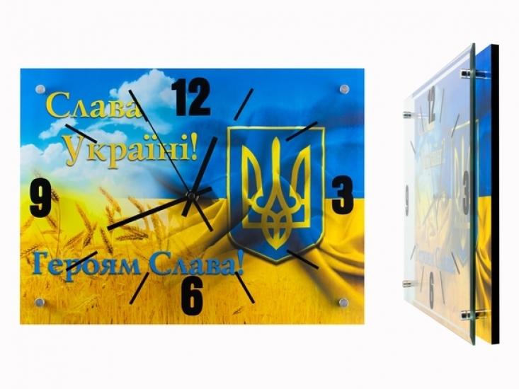 Фото - Часы Слава Україні, Героям Слава №3 купить в киеве на подарок, цена, отзывы